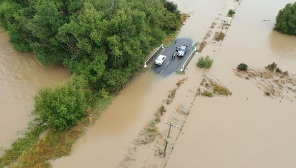 New Zealand minister declares adverse event as flood hitting South Island