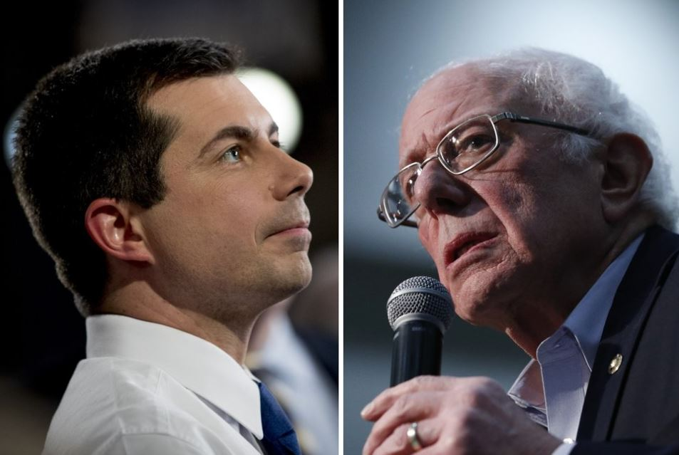 Partial Iowa results give Buttigieg slight edge over Sanders