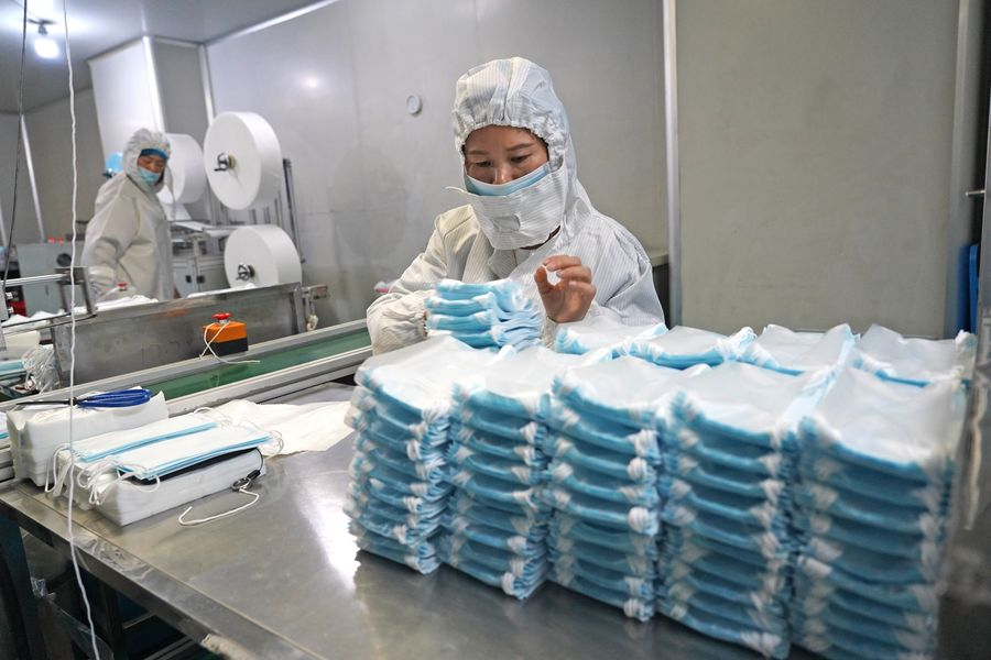 Mask makers go all out in fight against novel coronavirus