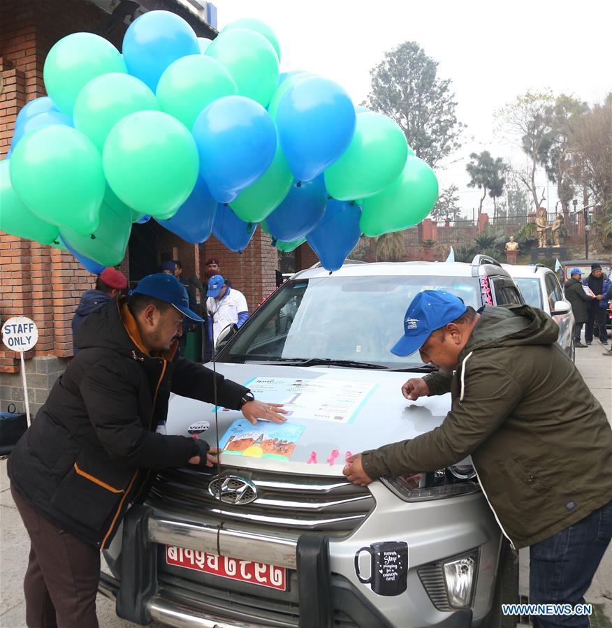 """""""Amazing Motor Rally"""" held in Kathmandu, Nepal"""