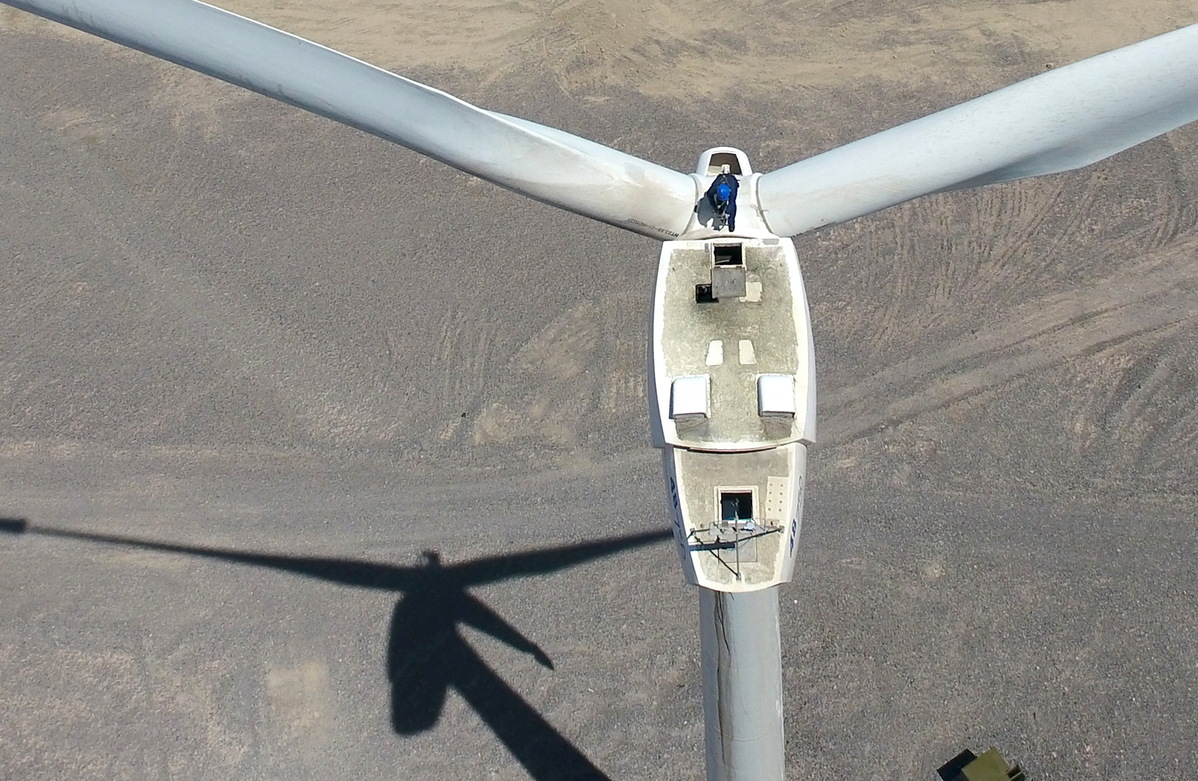 China leads in renewable energy sector