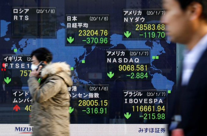 Tokyo stocks rise sharply in morning on Wall Street's solid overnight gains