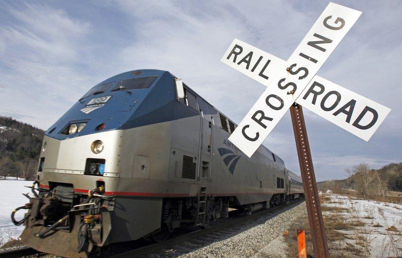 Derailed train catches fire in Canada