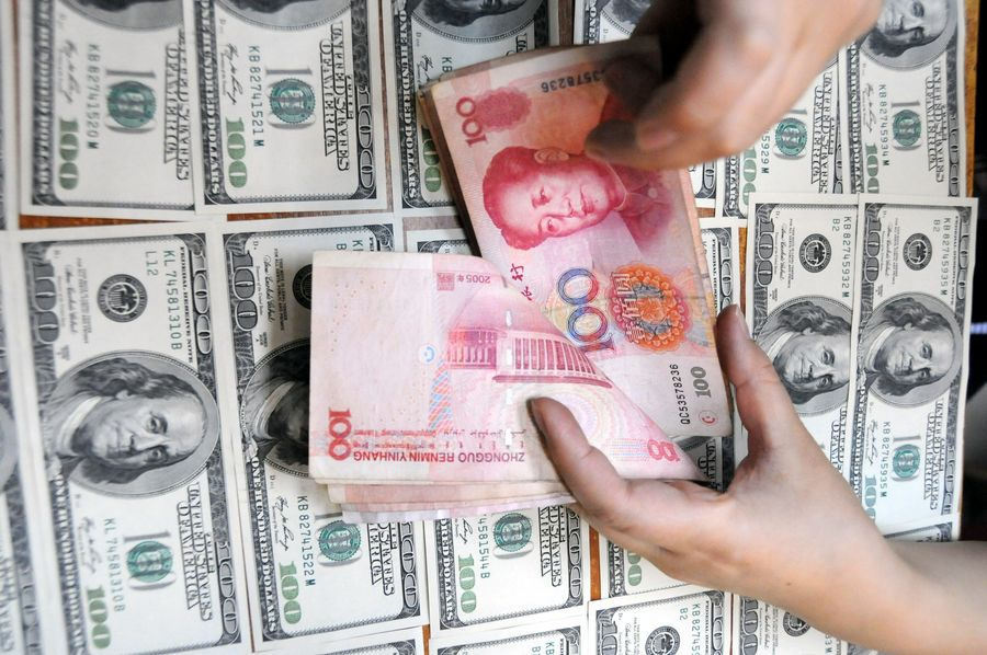 China's forex reserves stand at 3.1155 trln USD