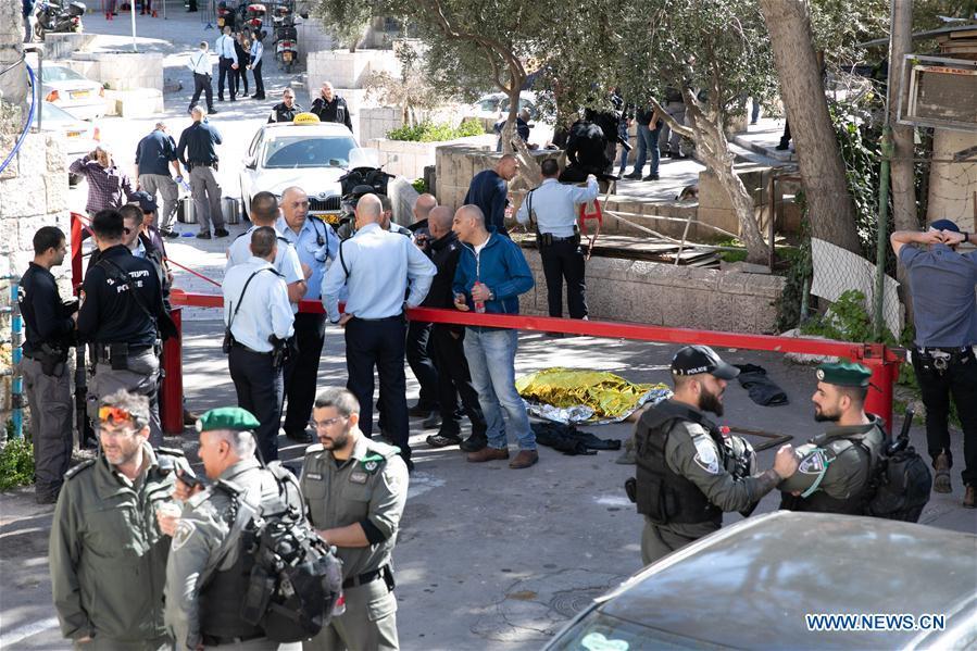 Palestinian gunman shot dead in Jerusalem: Israeli police