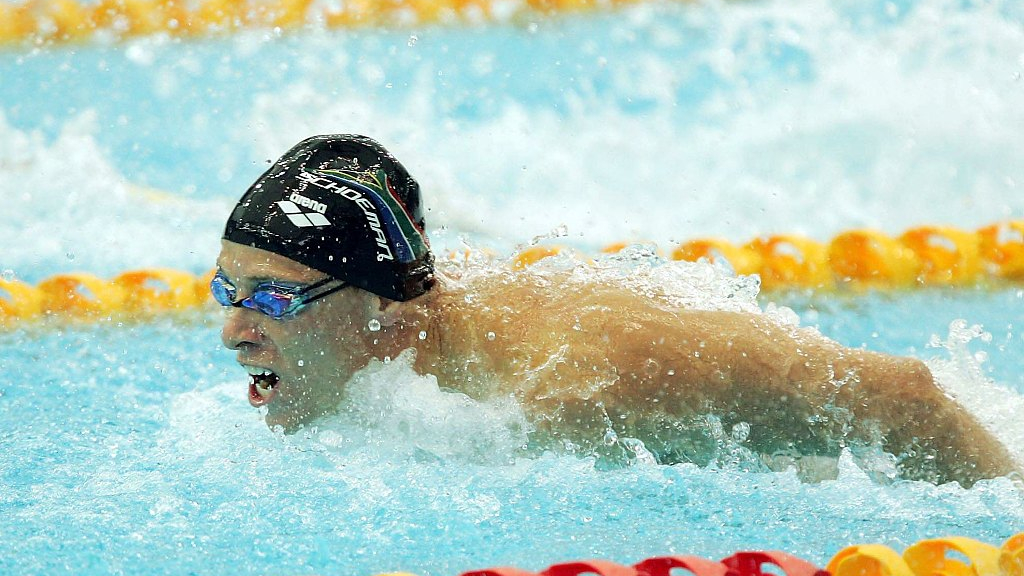 South African swim star Schoeman banned for doping