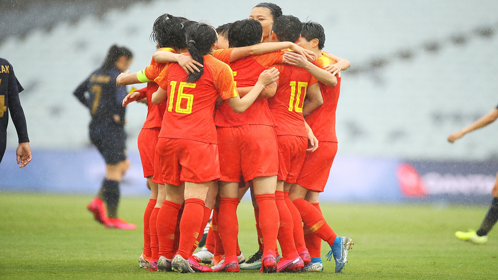 Chinese women football starts Olympic qualifier with 6:1 against Thailand