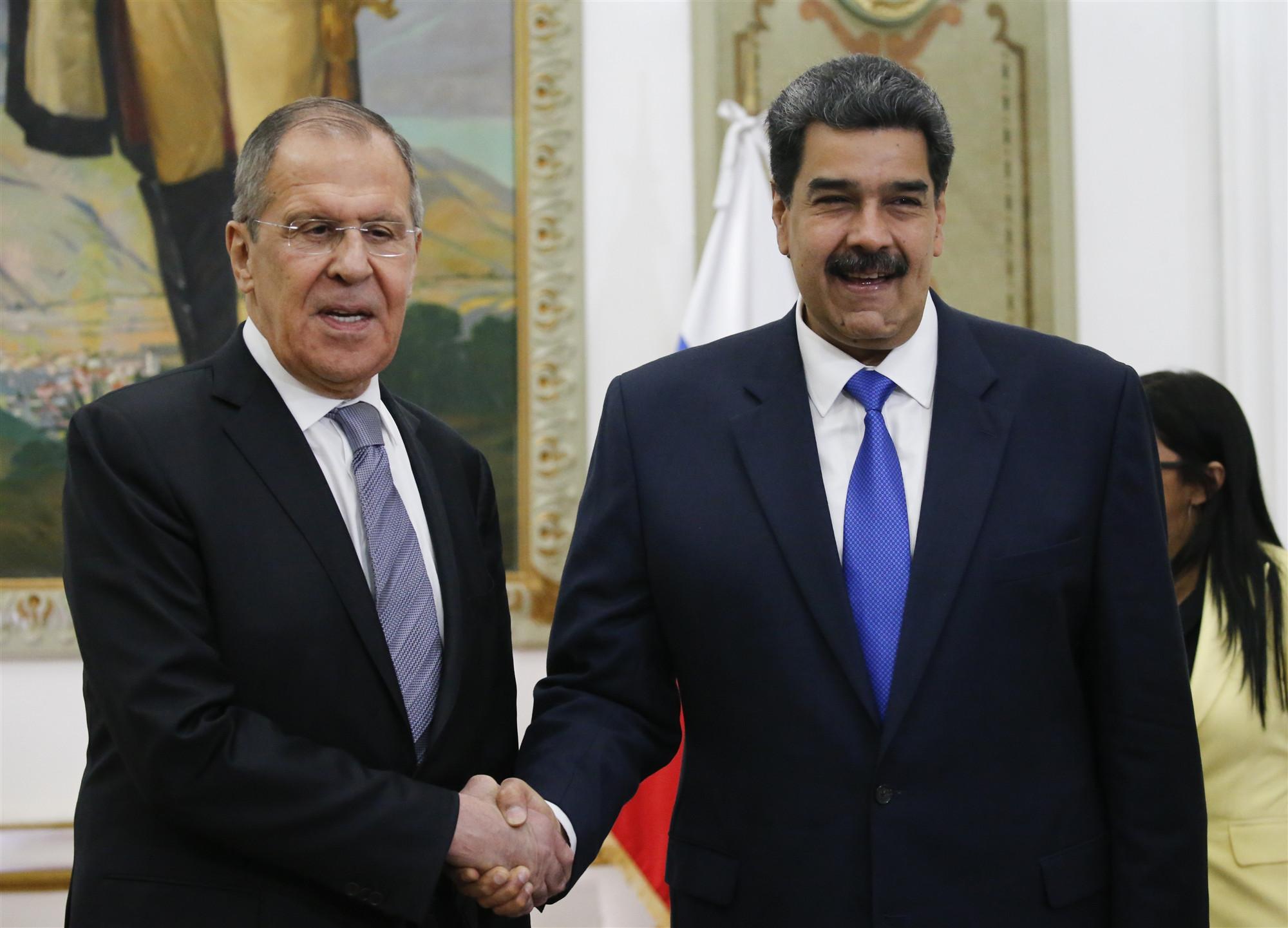 Russian FM slams US sanctions on Venezuela as 'illegal'