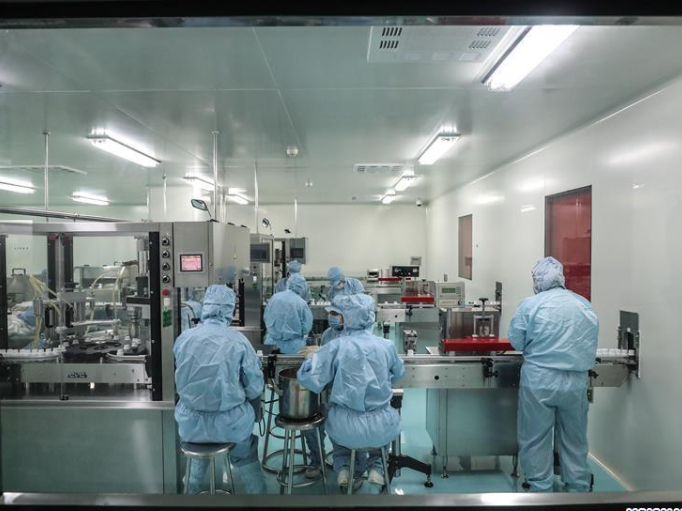 Pharmaceutical firm works overtime to ensure supply