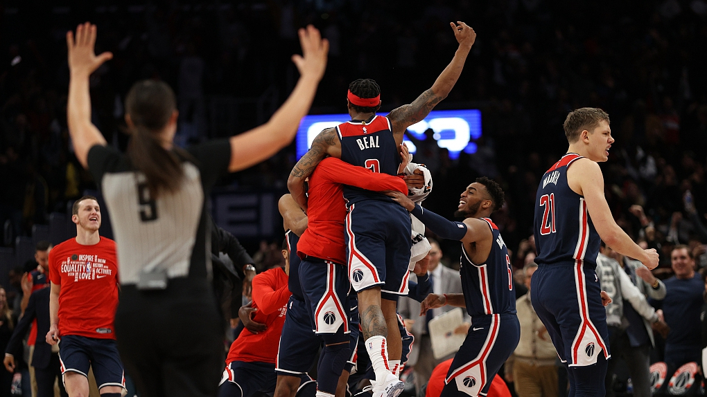 NBA Feb. 7 highlights: Beal's last-second layup hands Wizards victory