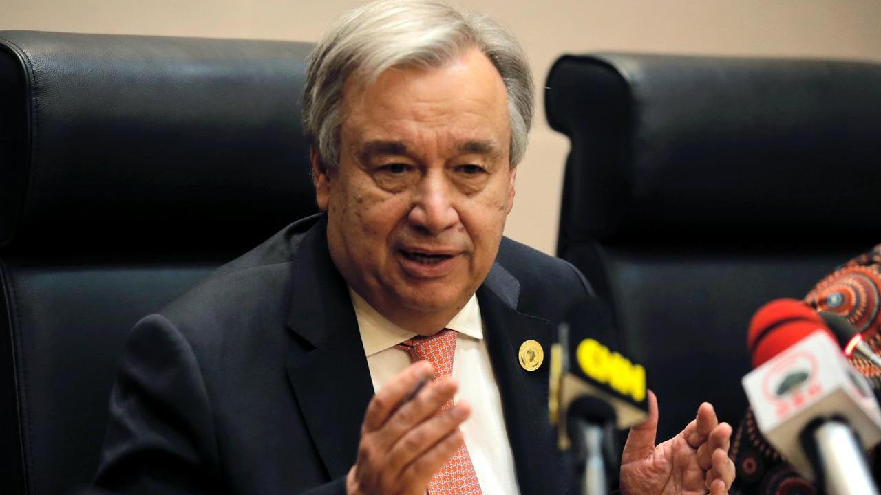 UN chief: Coronavirus fight requires solidarity, not discrimination