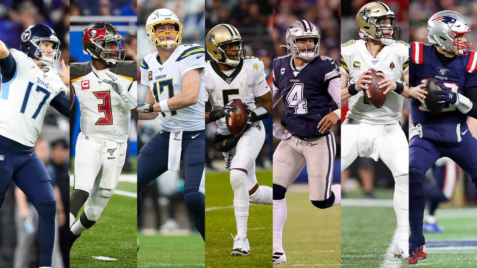 What will big-name quarterbacks do during the offseason?