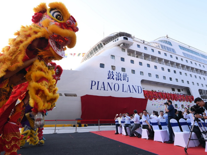 Voyaging into new era in cruise trade