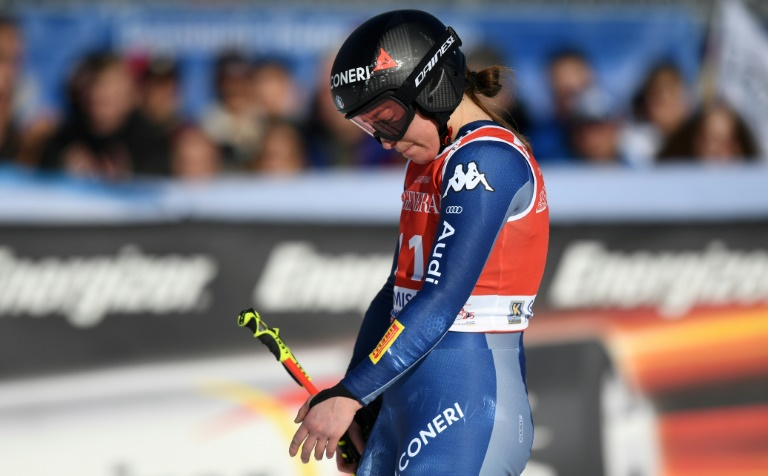 Olympic champion Goggia's season over after breaking arm