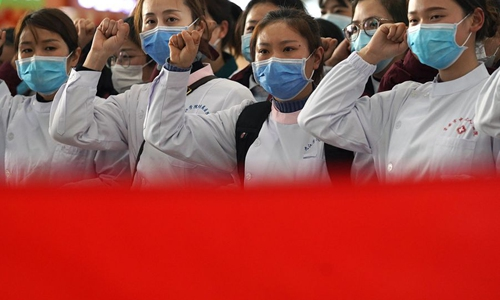 Women shine in China's anti-epidemic campaign