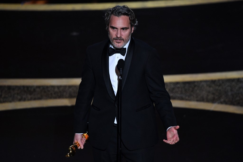 Joaquin Phoenix wins Oscars Best Actor Award for 'Joker'