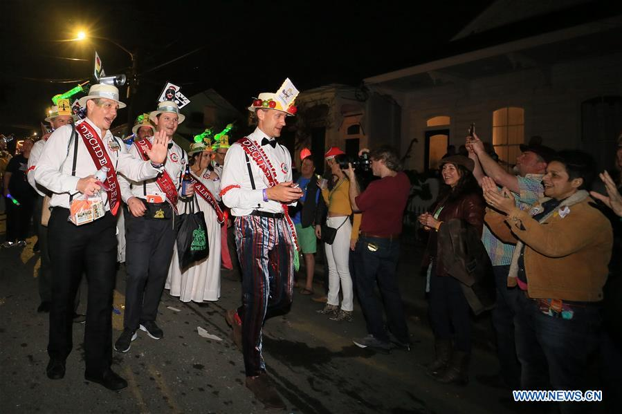 In pics: Mardi Gras Carnival in New Orleans, U.S.