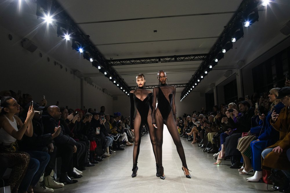 LaQuan Smith puts on a NY Fashion Week show of sexy black