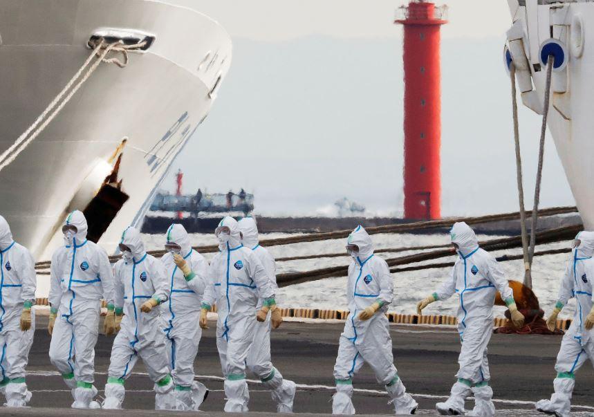 Six more tested positive for coronavirus on Diamond Princess cruise ship