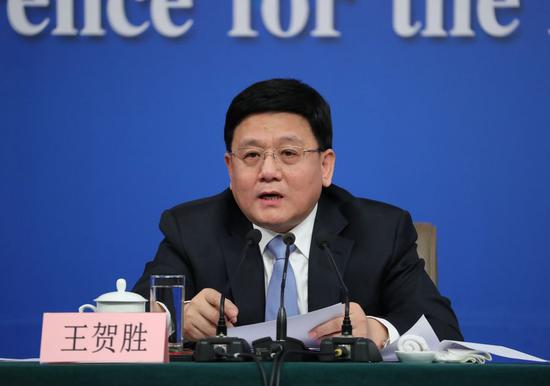 Wang Hesheng appointed director of Hubei heath commission