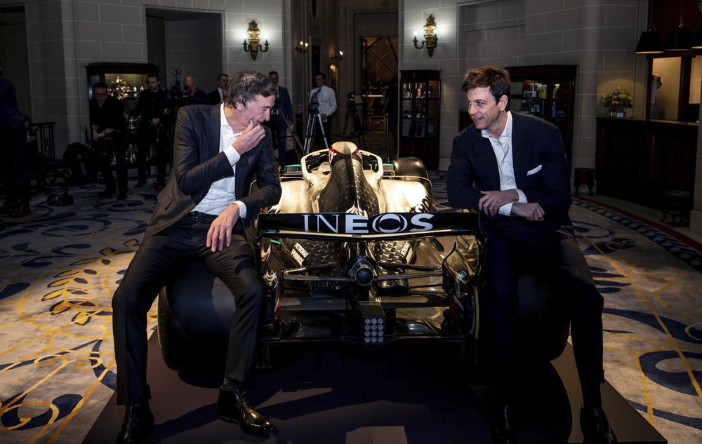 Mercedes signs new sponsor Ineos, awaiting Hamilton to commit