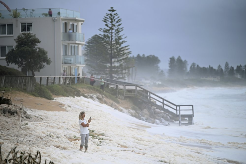 Deluge in Australia drenches fires and eases 3-year drought