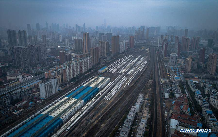 Departure, arrival trains in Hubei suspended or rearranged to control epidemic