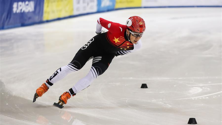 China's short-track skater Ren claims 1,500m title at ISU Dresden World Cup
