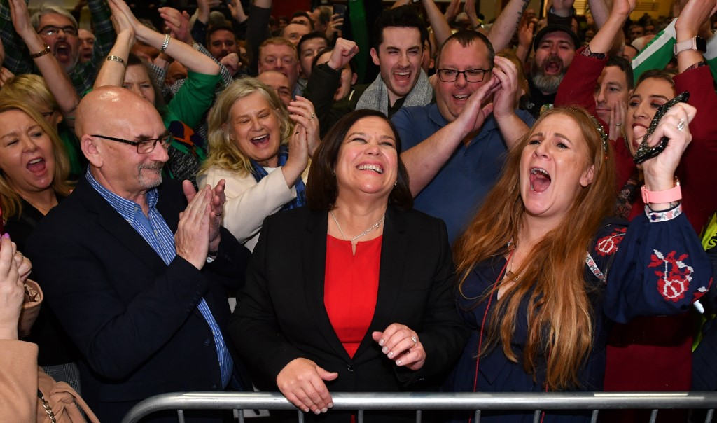 Sinn Fein becomes Ireland's second largest parliamentary party