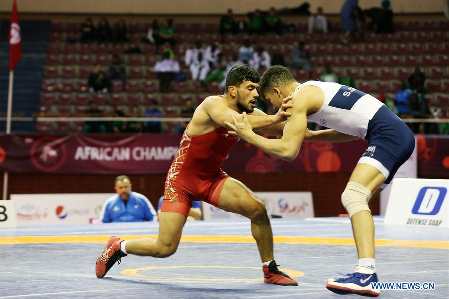Highlights of African Wrestling Championships