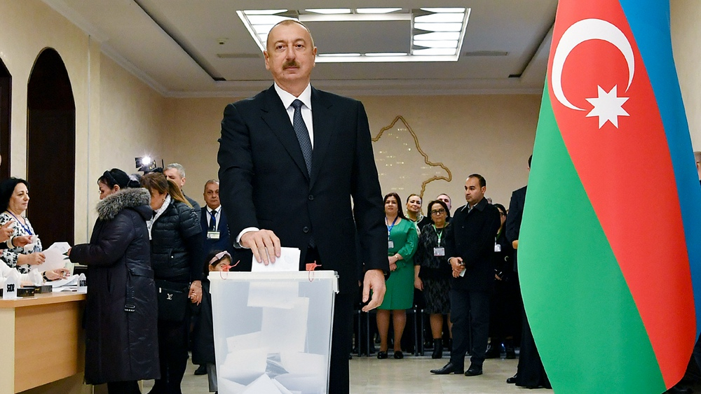 Azerbaijan's ruling party leads in snap parliamentary vote