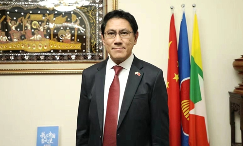 Myanmar stands with China: Ambassador