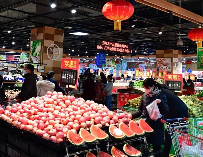 China to ensure daily necessities supplies amid anti-epidemic battle
