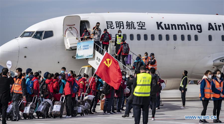 Medical workers across China head for Hubei to aid coronavirus control