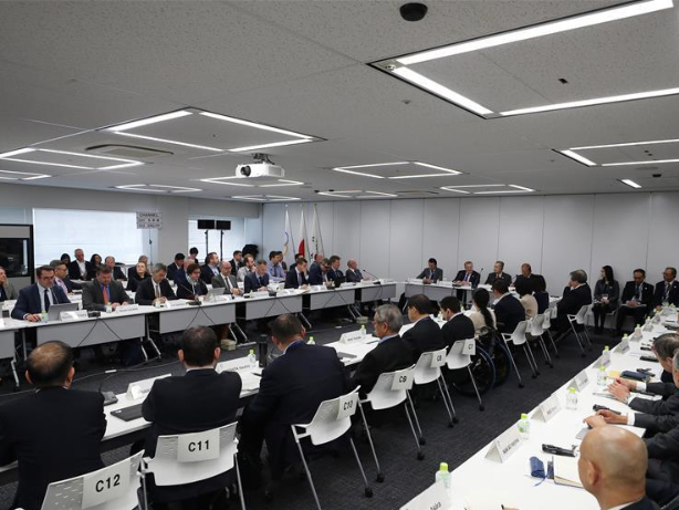 11th Project Review meeting of Tokyo 2020 Olympic and Paralympic Games held in Tokyo