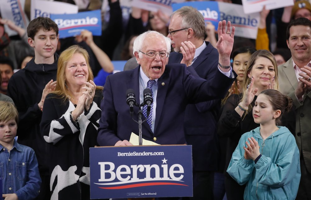 2020ers look to Super Tuesday even as 2 other states loom
