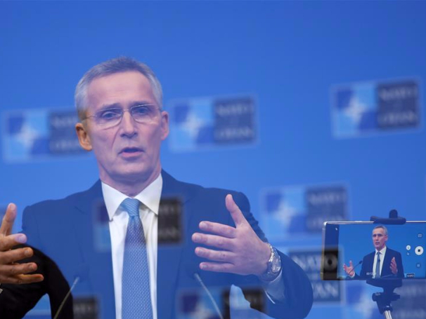 NATO defense ministers meeting held at NATO headquarters in Brussels, Belgium