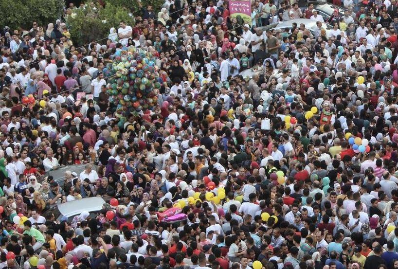 Egypt's population surpasses 100 million