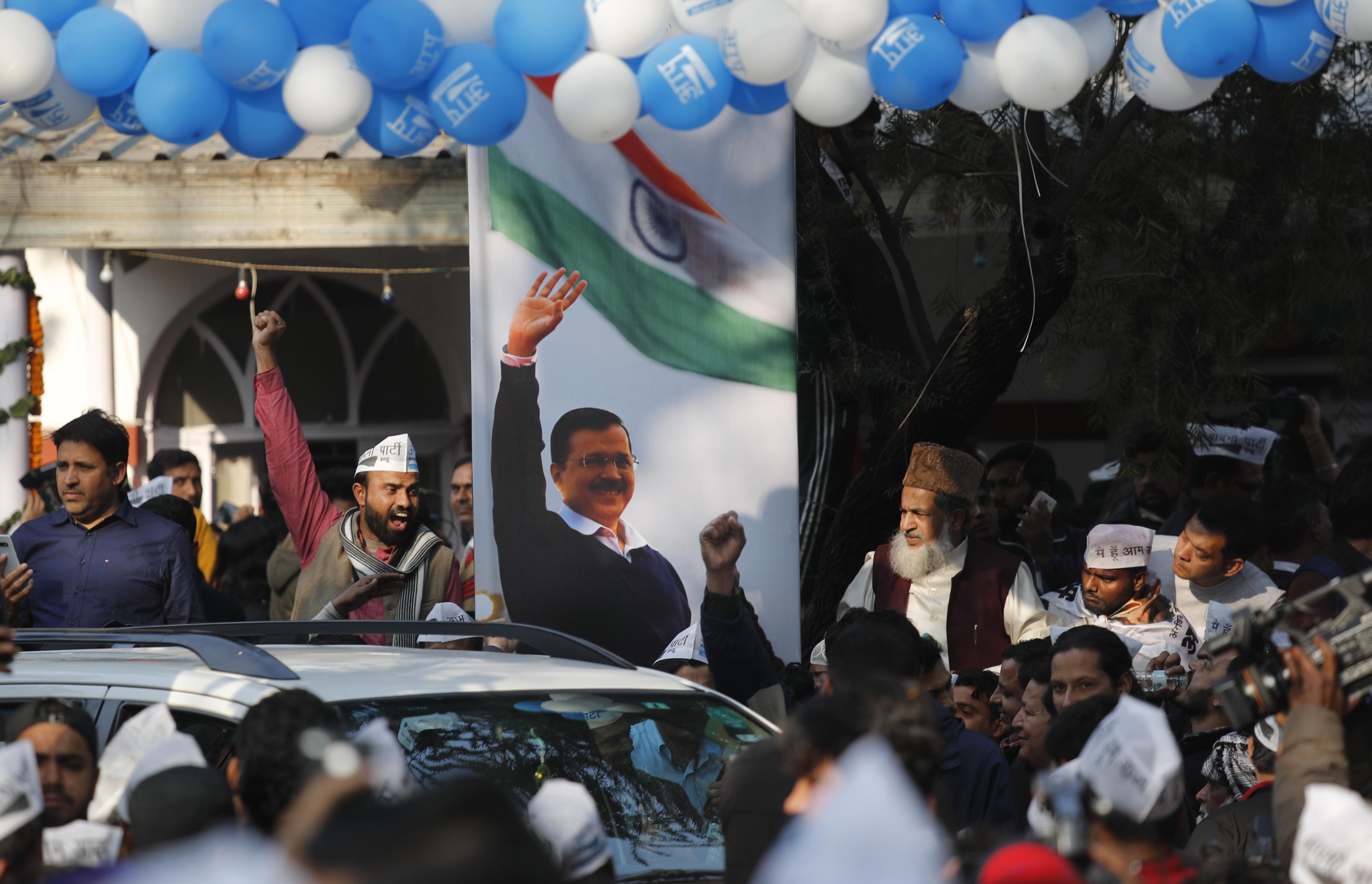 Narendra Modi concedes defeat in key New Delhi election