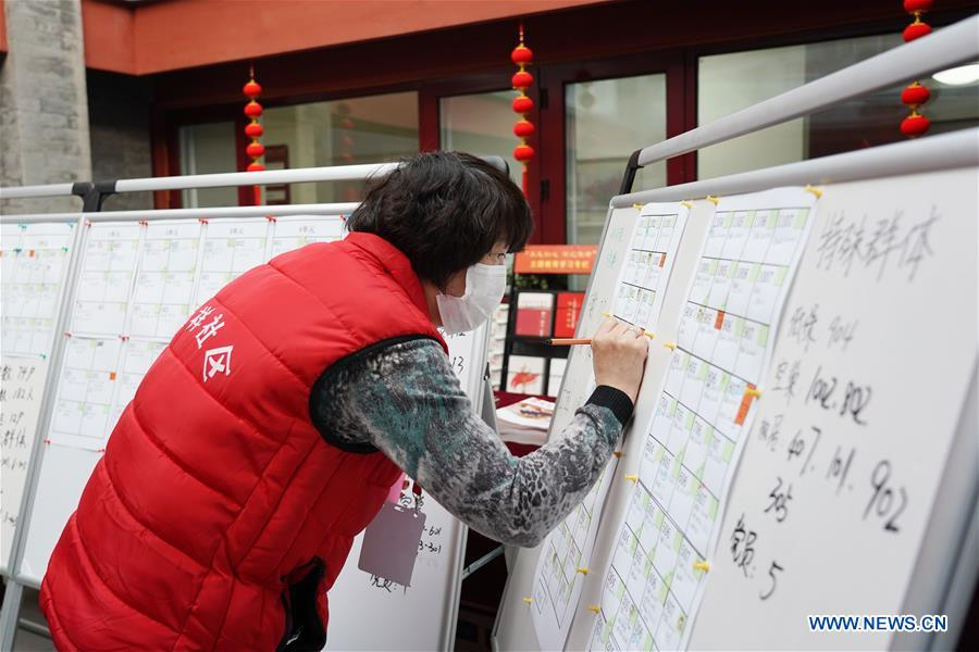 Work and production resumes gradually in Beijing