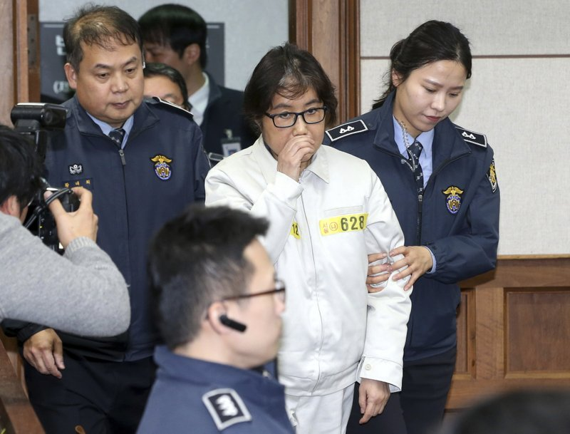 Shorter jail term for confidante of ousted South Korean leader