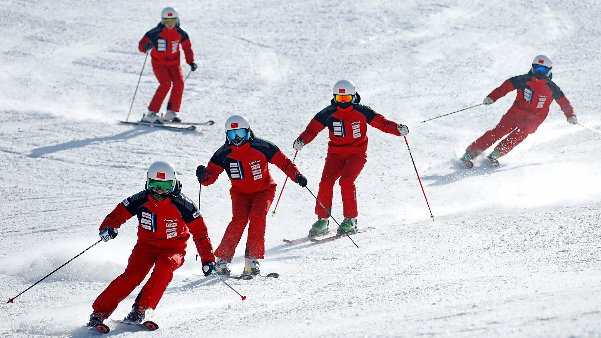 China's winter sports practitioners show confidence on countering COVID-19