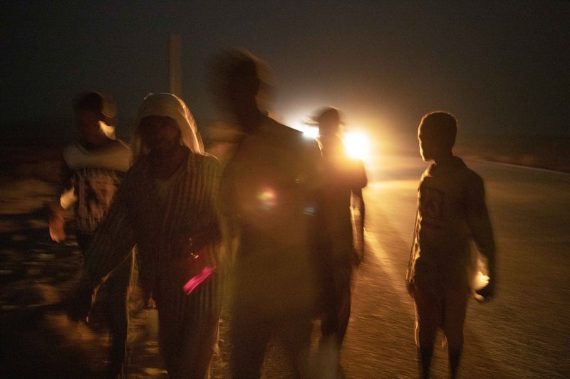 Ethiopians face deserts and smugglers on the way to Saudi