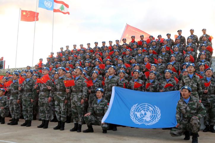 Chinese peacekeepers in Lebanon donate to the fight against coronavirus