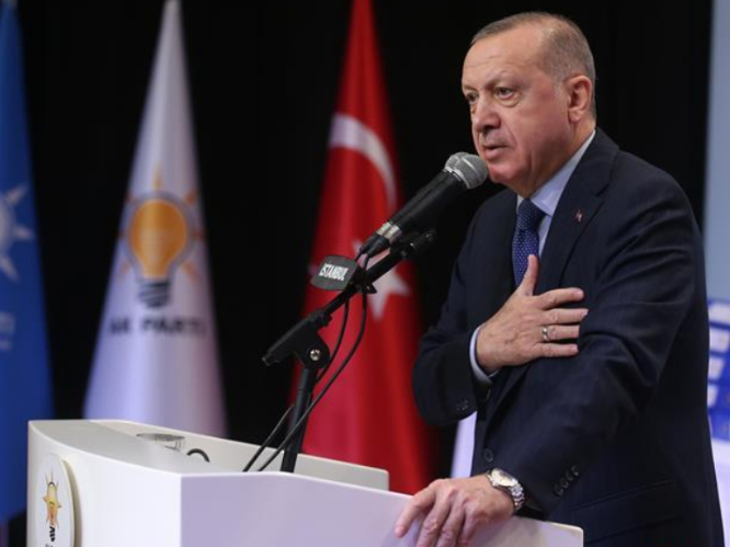 Erdogan dismisses accusation, says it's not 'intending to invade Syria'