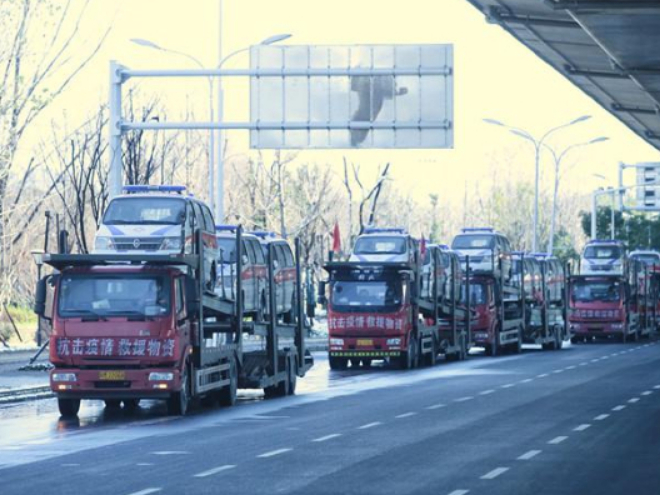 40 specialized ambulances dispatched to Hubei province