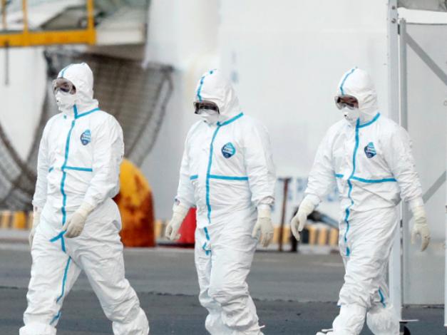 Coronavirus cases on Japan ship rise to 355: minister