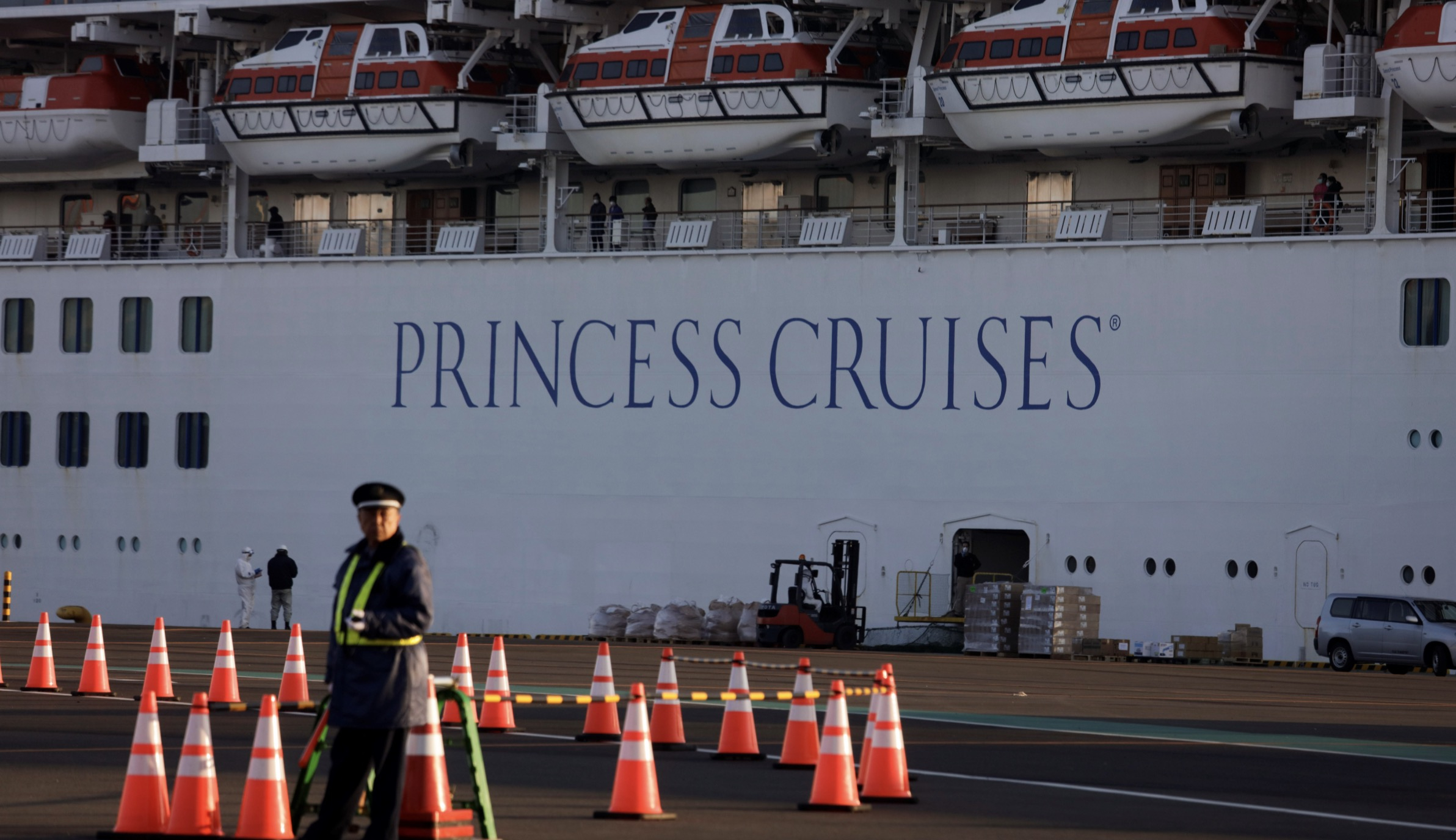 US to evacuate Americans aboard quarantined cruise ship in Japan