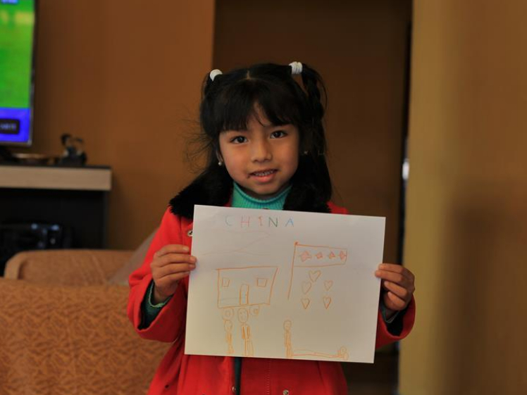 Drawings of Bolivian children show support for China's epidemic fight