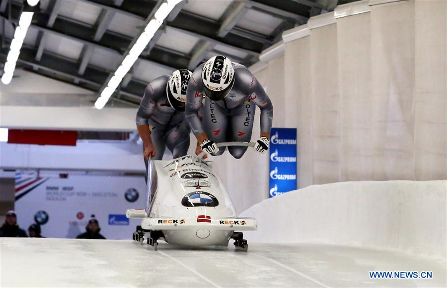 Highlights of IBSF World Cup Bobsleigh and Skeleton series